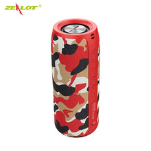 Load image into Gallery viewer, ZEALOT Powerful Bluetooth Speaker Bass Wireless Portable Subwoofer Waterproof with Fm Radio Support TF, TWS, USB Flash Drive