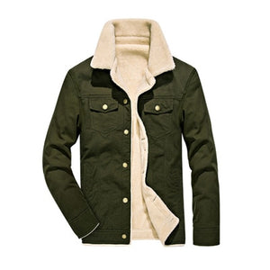 Winter Bomber Jacket - Air Force Pilot MA1 Jacket. Warm Male fur collar. Army tactical jacket
