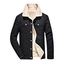 Load image into Gallery viewer, Winter Bomber Jacket - Air Force Pilot MA1 Jacket. Warm Male fur collar. Army tactical jacket