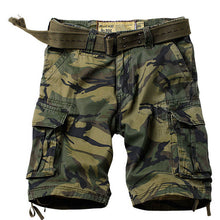 Load image into Gallery viewer, ReFire Gear - Military Camouflage Shorts. Many Pockets Army Cargo Shorts.