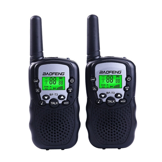 Wholesale Children Mini Kids UHF Walkie Talkie (2pcs)