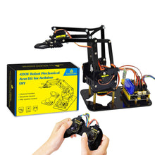 Load image into Gallery viewer, Acrylic Toys Robot Mechanical Arm Claw  - Kit for Arduino DIY Robot