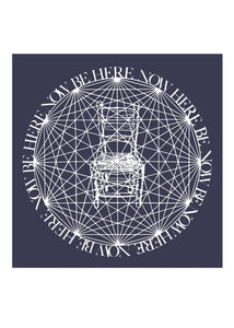 Be Here Now Greeting Card