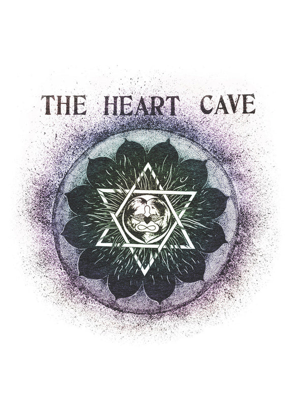 The Heart Cave Greeting Card
