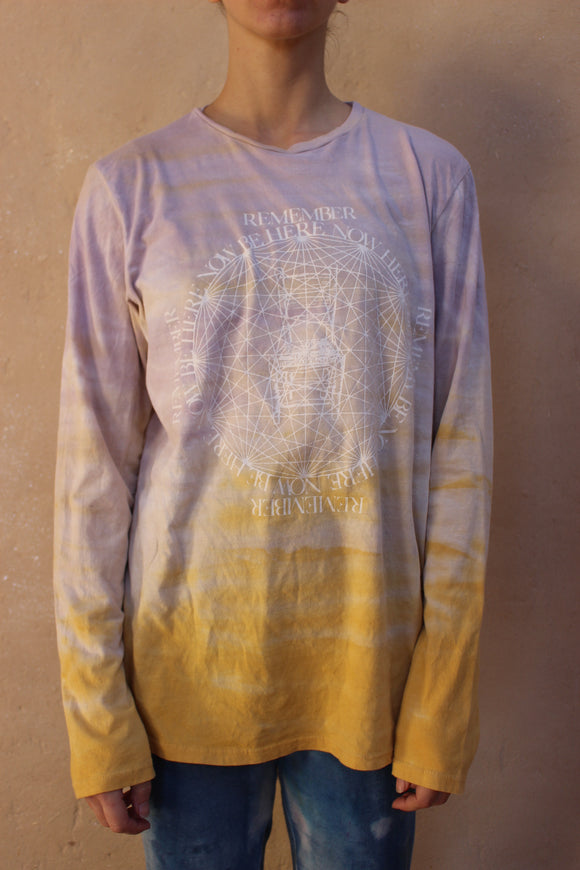 Gold Horizon Wash T-Shirt