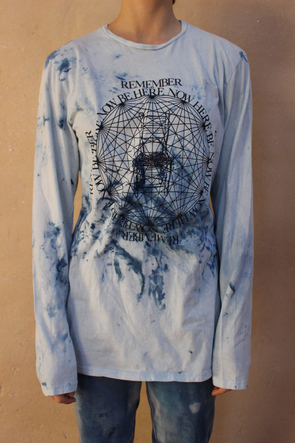 Cosmic Indigo Wash T-Shirt