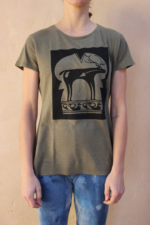 Hemp Elk Heart T-Shirt