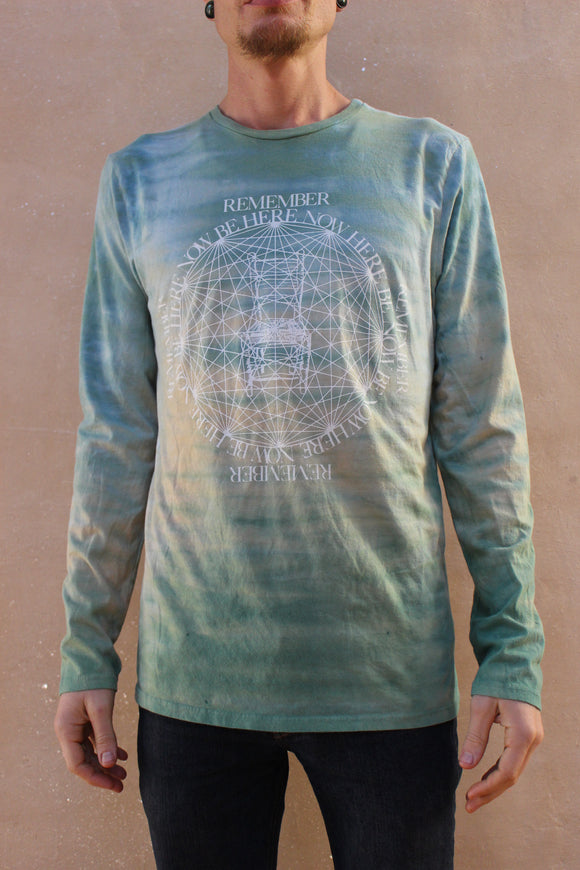 Green Horizon Wash T-Shirt
