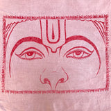 Hand Dyed Hanuman Eyes Flag