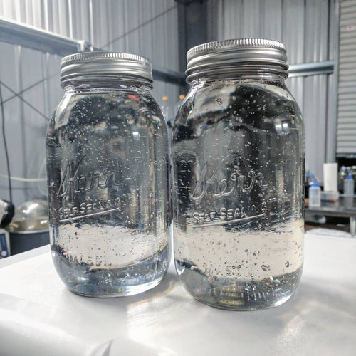 Delta 8 THC- Wow! Take a look at those gleaming jars of clear clean and concentrated CBG Delta 8.