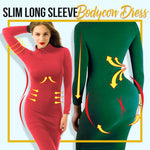 Slim Long Sleeve Bodycon Dress