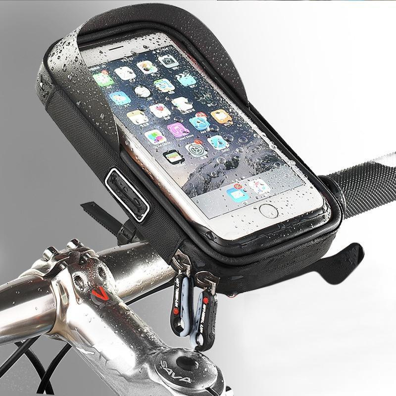 Waterproof Smartphone Support for Motorcycle