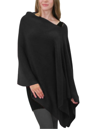 Sunday Brunch Poncho with Slit