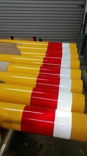 Bollard Powder Coated 150 mm