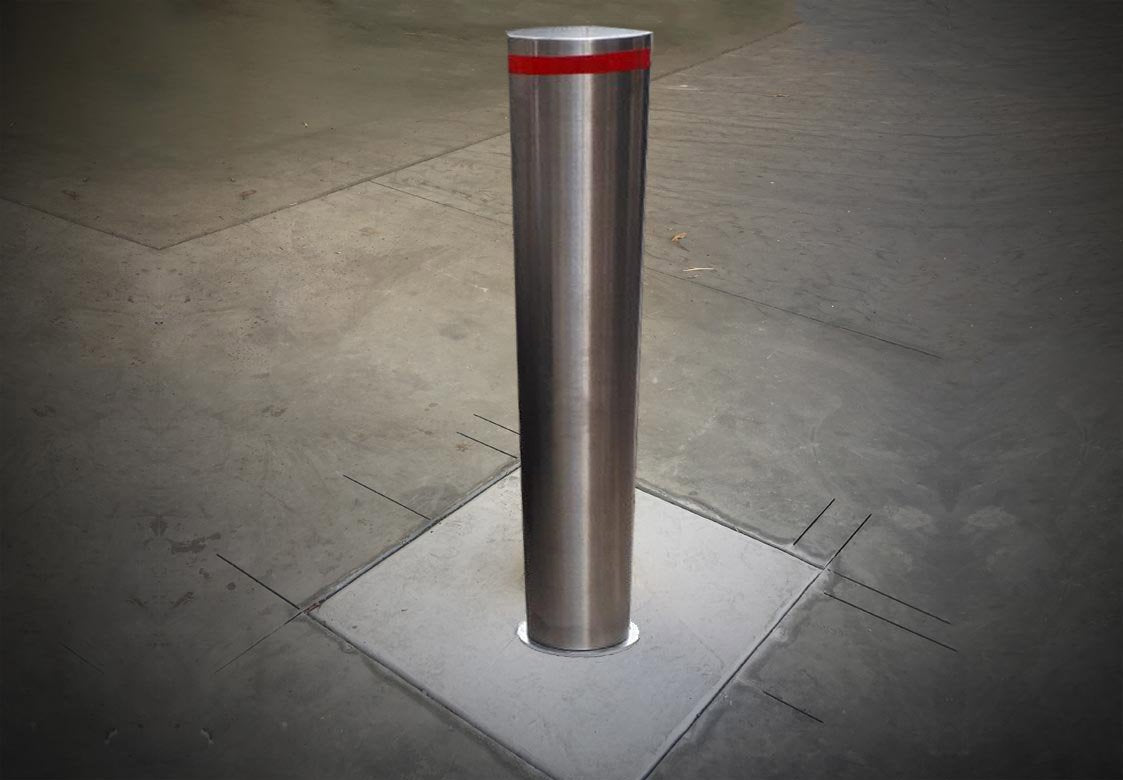 Bollard Stainless Steel - ZERO CIVIL