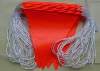 Safety Flag Bunting (plain) - ZERO CIVIL