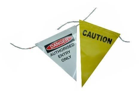 Safety Flag Bunting - ZERO CIVIL