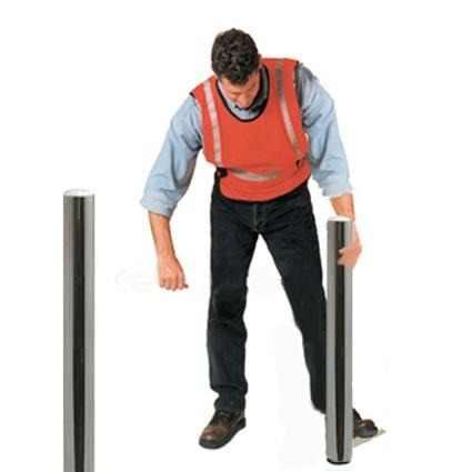 Bollard Stainless Removable - ZERO CIVIL