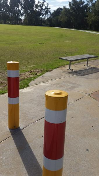 Bollard Steel In-ground - ZERO CIVIL