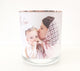 400ml Printed On Jar Photo Candle with Rose Gold Lid