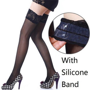 Women Lace Silicon Garter