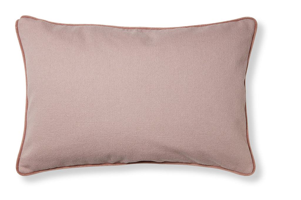 Classic and soft cotton cushion - Maps rose