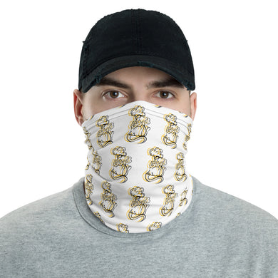 Unisex - One Size Fits All, Washable and Reusable. Cheese Song 3 Neck Gaiter
