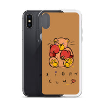 Load image into Gallery viewer, Fight Club!  Max the Teddy Bear iPhone Case