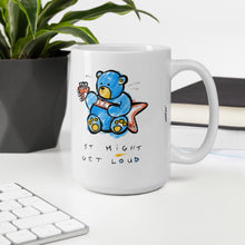 Load image into Gallery viewer, It Might Get Loud, Max the Teddy Bear Mug