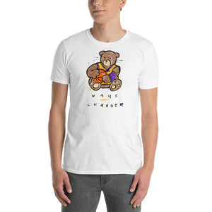 Game Changer, Max the Teddy Bear, Short-Sleeve Unisex T-Shirt