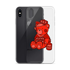 Punk Rock Max iPhone Case (Red)