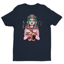 Load image into Gallery viewer, Cleopatra CEO Funky Orange Short Sleeve T-Shirt