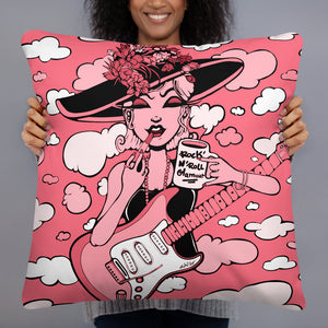 Rock & Roll Glamour Pillow