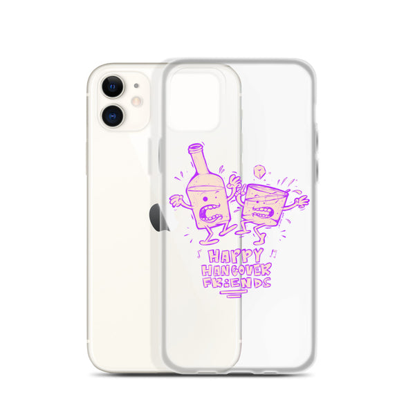 Happy hungover Friends iPhone Case
