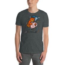 Load image into Gallery viewer, I Need Caffeine! Max the Teddy Bear, Short-Sleeve Unisex T-Shirt