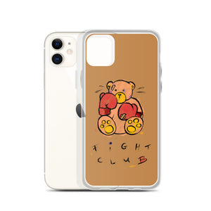 Fight Club!  Max the Teddy Bear iPhone Case