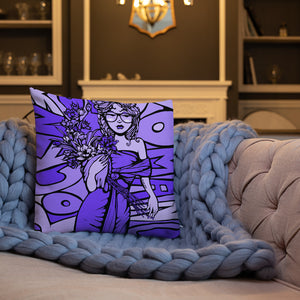 Rock & Roll  Romance Premium Pillow