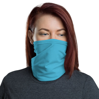 Unisex - One Size Fits All, Washable and Reusable. All Blue Neck Gaiter