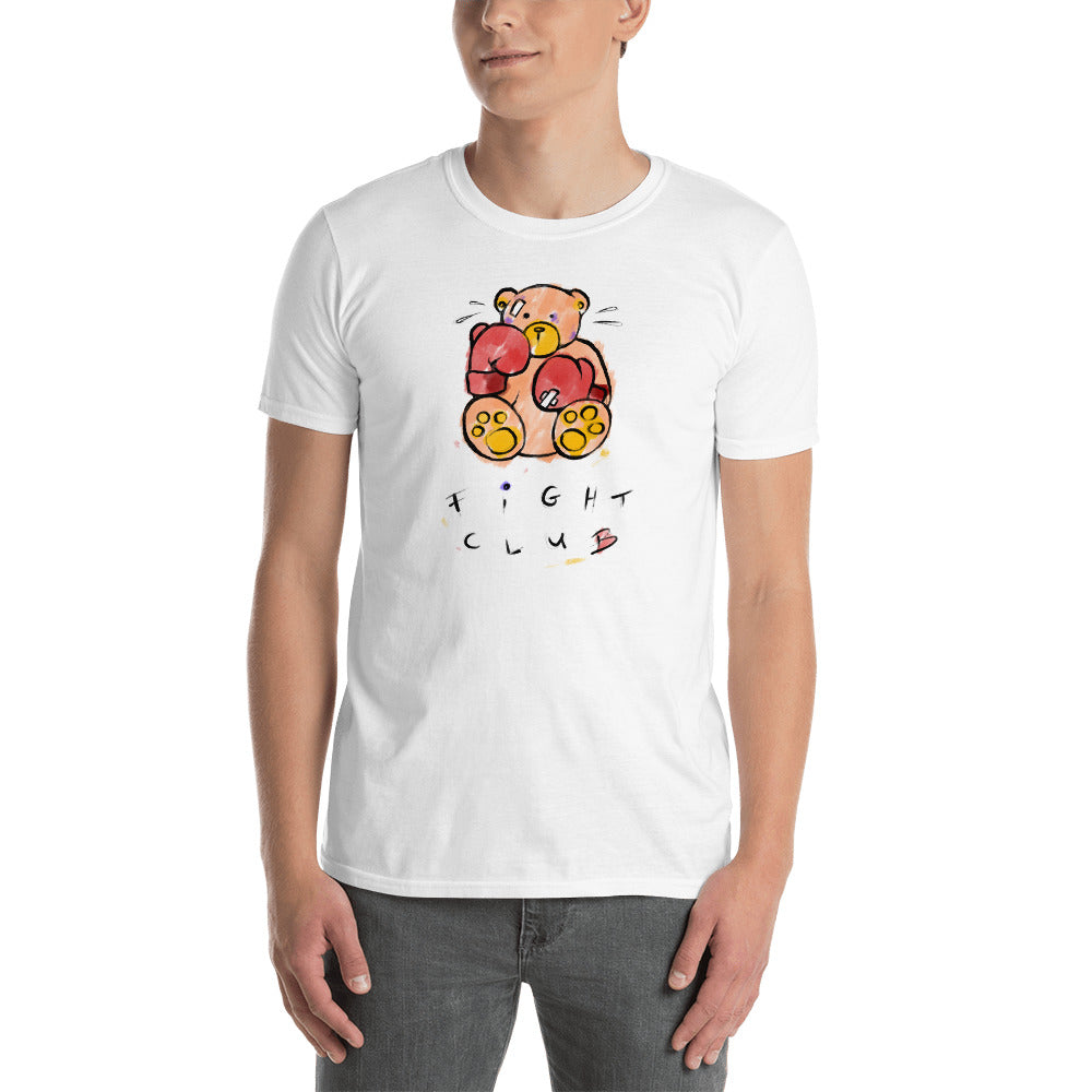 Fight Club, Max the Teddy Bear, Short-Sleeve Unisex T-Shirt