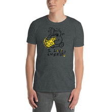 Load image into Gallery viewer, I Love Cheese! Max the Teddy Bear, Short-Sleeve Unisex T-Shirt