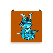 Load image into Gallery viewer, Punk Rock Max Sepukku Poster (Turquoise)