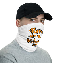 Load image into Gallery viewer, Unisex - One Size Fits All, Washable and Reusable - Pump Up The Volume! Neck Gaiter