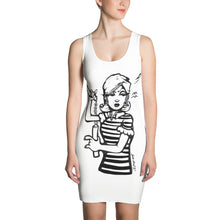 Load image into Gallery viewer, Honey We Need To Talk! Sketch Sublimation Cut & Sew Dress