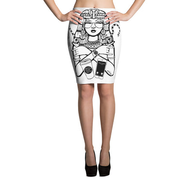 Cleopatra CEO Pencil Skirt