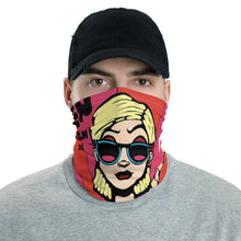 Load image into Gallery viewer, Unisex - One Size Fits All, Washable and Reusable - Everything Zen Full Print Neck Gaiter