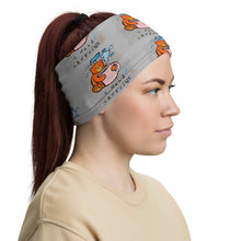 Load image into Gallery viewer, Unisex - One Size Fits All, Washable and Reusable, I Need Caffeine!! Max the Teddy Bear Neck Gaiter