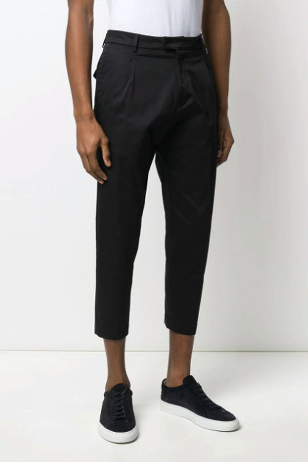 Pantalone nero corto- LOW BRAND - Pantaloni e jeans - LOW BRAND  - Manida Shop Online-[variant_SKU]- [product_description]