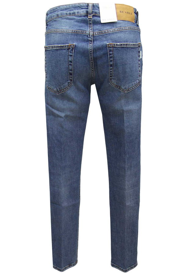 Jeans Davis Shorter BE ABLE - Pantaloni e jeans - BE ABLE  - Manida Shop Online-[variant_SKU]- [product_description]