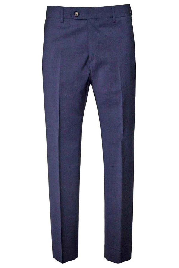 PANTALONE BE ABLE IN FRESCO LANA COLORE BLU ALEXANDER SHORTED SMO 19BLU