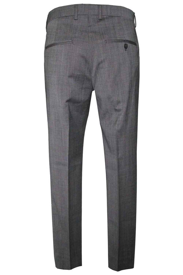 Pantalone grigio in lana-BE ABLE - Pantaloni e jeans - BE ABLE  - Manida Shop Online-[variant_SKU]- [product_description]
